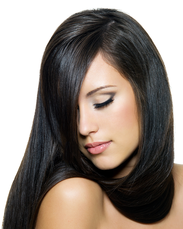 bruenette-haare